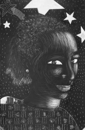 DESSINE-MOI UN FRANCAIS! - Autoportraits noir&blanc (2007-2008)